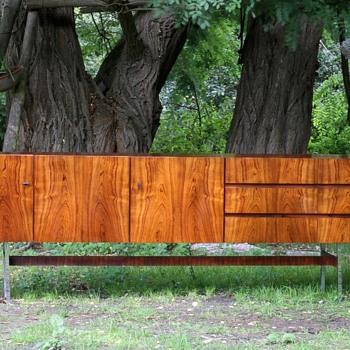a german 1960s musterring sideboard - Furniture