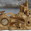 March 19, 1929 New Haven Clock Co. German Castle Clock/Lamp