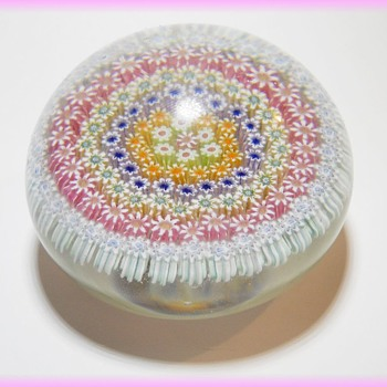 Perthsire (Scotland) Paperweight PP4 design - Art Glass - Art Glass