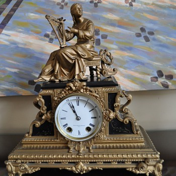 An old ? pre 1850 clock.  - Clocks