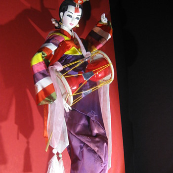 Bob Hope Estate . . . Hand-Painted Korean Doll