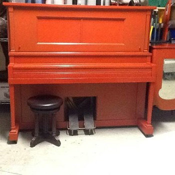 Boston Merrill player piano - Musical Instruments