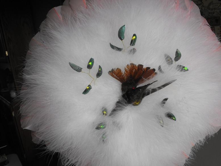 victorian hummingbird feather fan collectors weekly
