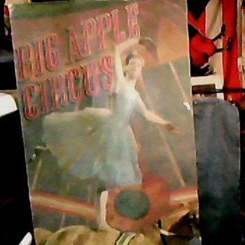 BIG APPLE CIRCUS SPRING/SUMMER TOUR 1991