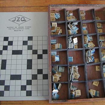 JAY ZEE QUE BATTLE OF CROSS WORDS BOARD GAME - Games
