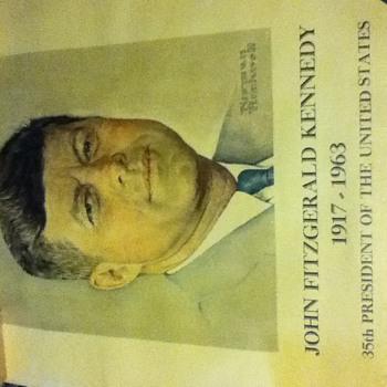 John F Kennedy Memoriam Poster