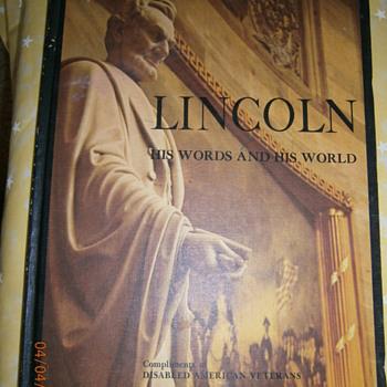 President Lincoln - Books