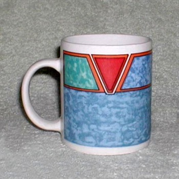 Geometrical design Coffee Mug - Kitchen