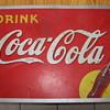 1939 Coca-Cola Tin Sign