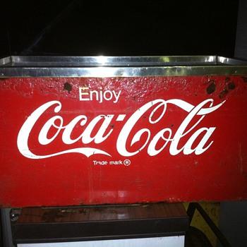 Coke Ice Chest Dispenser