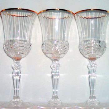 Vintage Crystal Glassware - Glassware