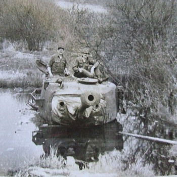 Did you know tanks do not float? Well, you know now. - Military and Wartime
