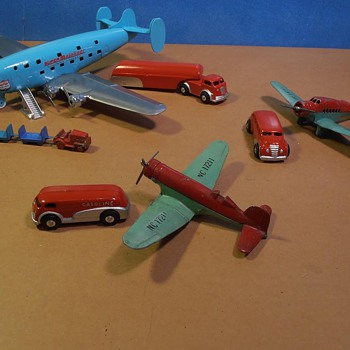 Art Deco Airport Toys  - Toys