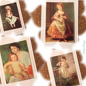 Vintage Children Portrait Postcards - Postcards