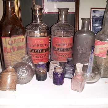 U.S. Treasury and Mint Master Bottles - Bottles
