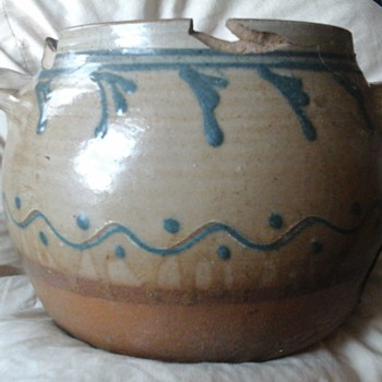 PAUL BERMAN! Beautiful broken pot - Pottery