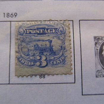 Old stamps multinational 1800s and up