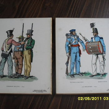 ROTC Photo's on Wooden Backing. - Posters and Prints
