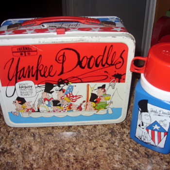 1976 yankee doodles lunch box
