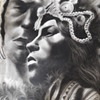 2 Peruvian Drawings - One signed.  One unfinished.  - Graphite- Artist Guess?