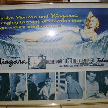 Marilyn Monroe Rare Niagara Movie Poster - Posters and Prints