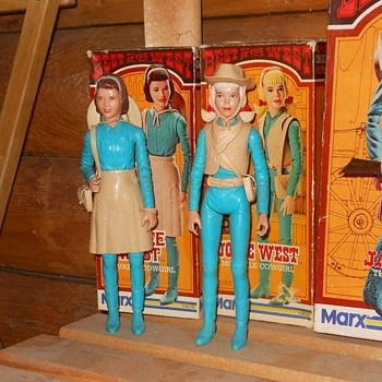 Janice and Josie West Best of the West Series 1974 - Toys