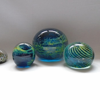 Paperweights - Art Glass