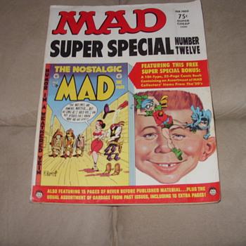 1973 mad super special no 12 - Paper