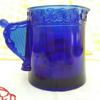 Beautiful Cobalt Glass Pieces, I just love these - Glassware