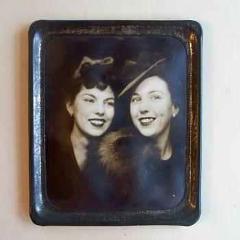 Photomatic Photo -  Two Lovely Ladies from 1930's  - Photographs