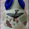 Roccoco Art Glass Vase 1
