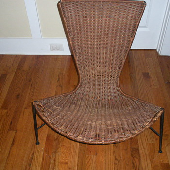 ONE OF MY FAVORITE MID-CENTURY MODERN CHAIR  NO NOTHING ABOUT IT. - Mid-Century Modern