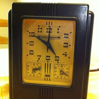 Westinghouse timer clock - Art Deco