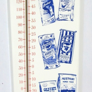 Buckeye Feed Thermometer for bobby725 - Advertising