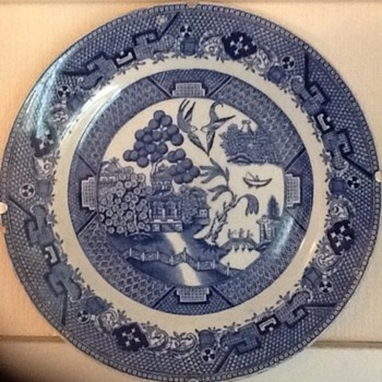 My Willow plate - China and Dinnerware