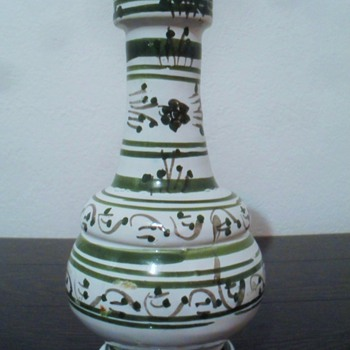 Turkish or Moroccan Pottery Vase? - Pottery