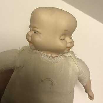 3 Faced Porcelain Doll (Would Love to know How old it is) - Dolls