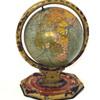1930's metal world globe