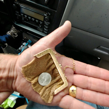 gold coin Purse - Bags