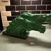 """Art Deco, Charles Lemanceau, ceramic Horses. """" La Poste"""""""