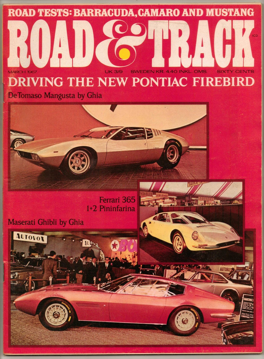 1967 - Road & Track Magazine (Muscle Car Road Tests) | Collectors Weekly