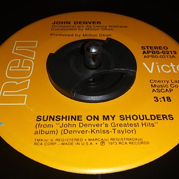 45 RPM SINGLE....#40 - Records