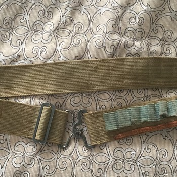 Vintage Military Ammo Belt WW2 ?? - Military and Wartime
