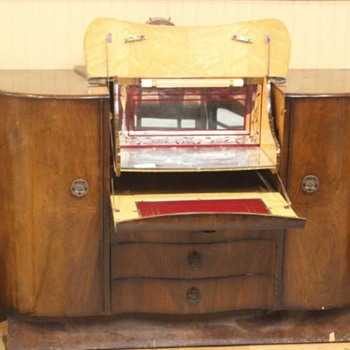 Art Deco Liquor Cabinet/Bar