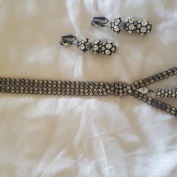 Art Deco Necklace & Earing Set