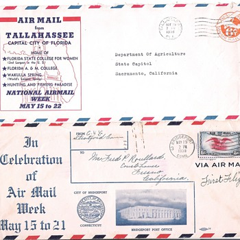 Airmail and Advertising - Stamps