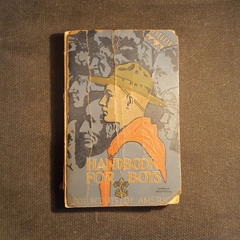 Saturday Evening Scout Post Handbook For Boys 1916-1929 - Books