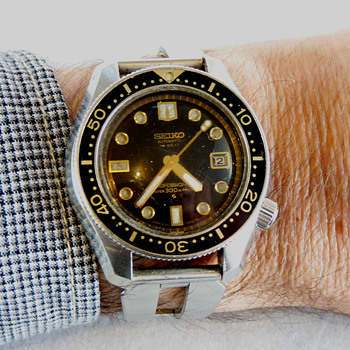 A 1969 Seiko Professional Divers Watch 6159-7001
