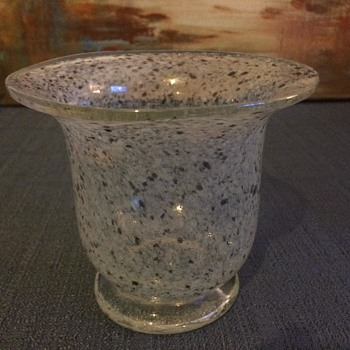 Vaseline glass - Art Glass