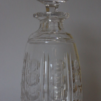 Stuart Crystal Decanter 1930s - Bottles